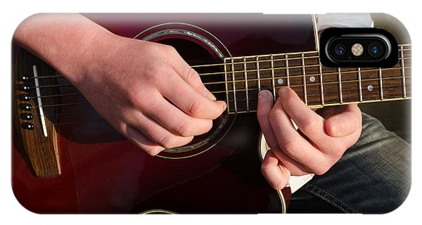 Musical Hands IPhone Case