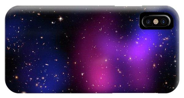 Musketball Galaxy Cluster Phone Case by X-ray: Nasa/cxc/caltech/a.newman Et Al/tel Aviv/a.morandi & M.limousin; Optical: Nasa/stsci, Eso/vlt, Sdss