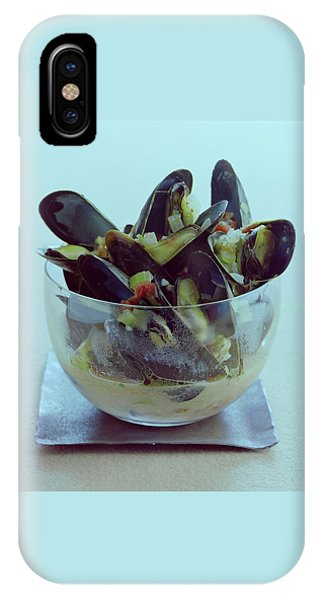 Mussels In Broth IPhone Case