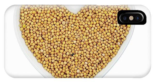 Mustard iPhone Case - Mustard Seeds by Geoff Kidd