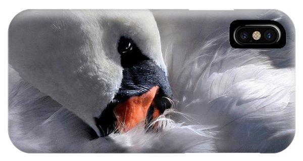 Mute Swan IPhone Case