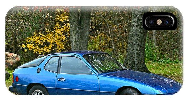 My 1977 Porsche 924 IPhone Case