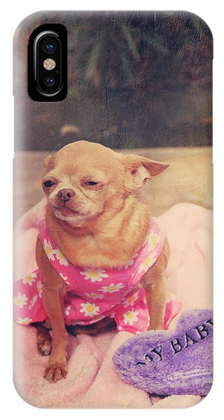 Chihuahua iPhone Case - My Baby by Laurie Search
