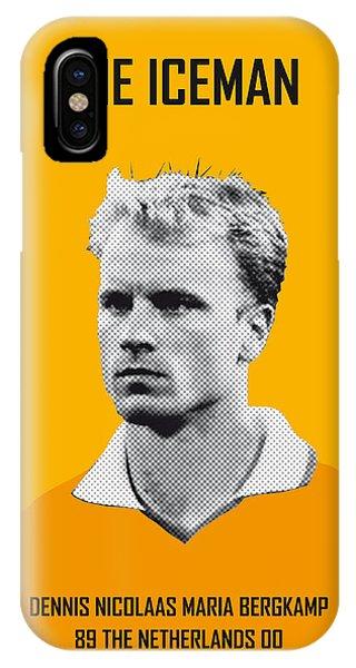 My Bergkamp Soccer Legend Poster IPhone Case