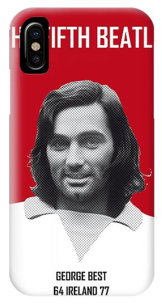 My Best Soccer Legend Poster IPhone Case