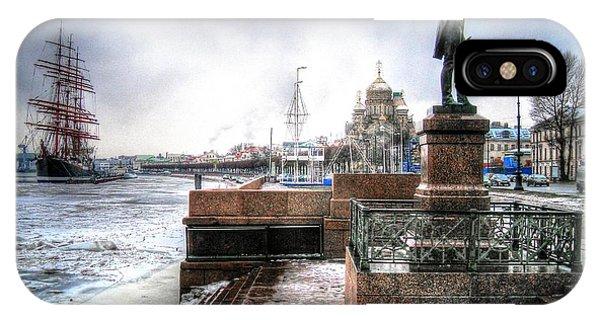 my city Peterburg IPhone Case