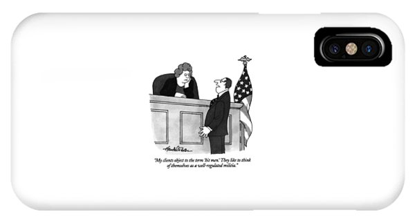 My Clients Object To The Term 'hit Men.' IPhone Case