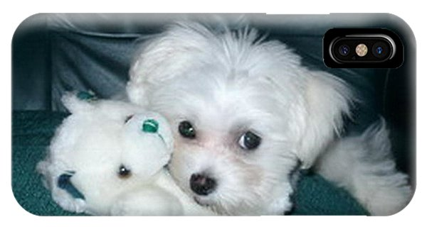 My Dog Maggie IPhone Case