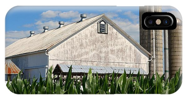 My Favorite Barn In Summer IPhone Case
