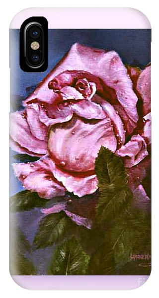 My First Rose IPhone Case