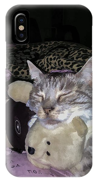 IPhone Case featuring the digital art My Friend by Photographic Art by Russel Ray Photos