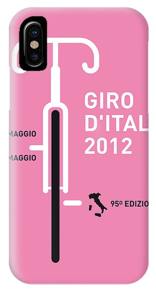 Artwork iPhone Case - My Giro D' Italia Minimal Poster by Chungkong Art