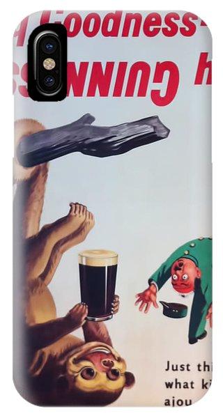 St. Patricks Day iPhone Case - My Goodness-  My Guinness by Georgia Fowler
