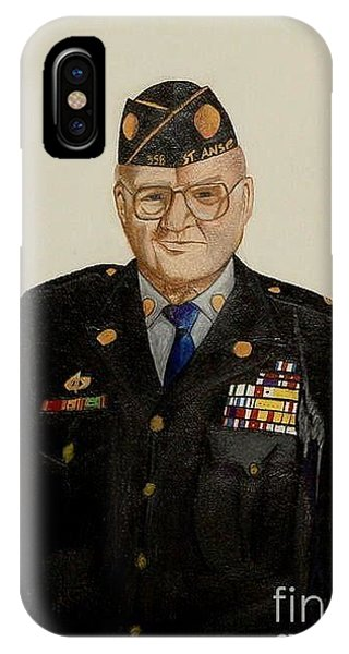 My Grandfather Galen Kittleson IPhone Case