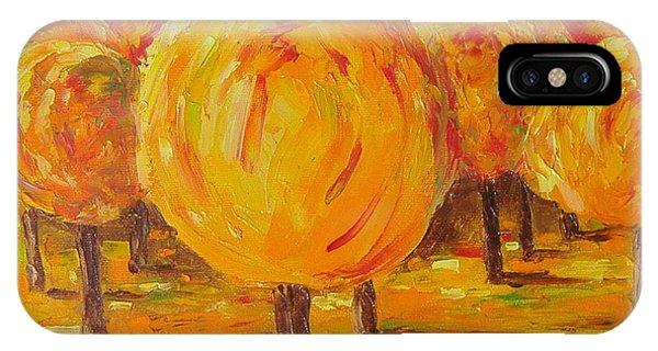 My Hot Autumn IPhone Case