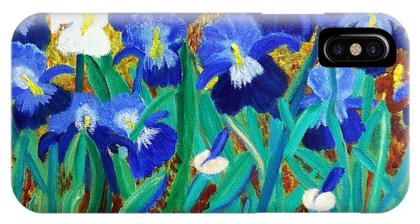 My Iris - Inspired  By Vangogh IPhone Case