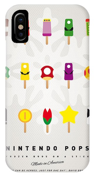 Magician iPhone Case - My Mario Ice Pop - Univers by Chungkong Art