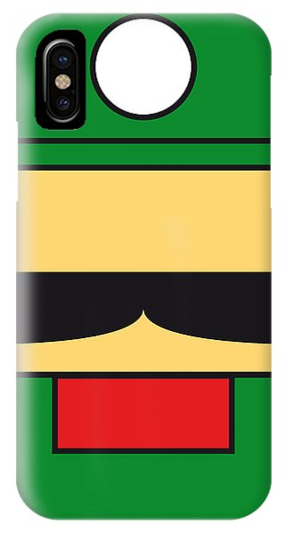 My Mariobros Fig 02 Minimal Poster IPhone Case