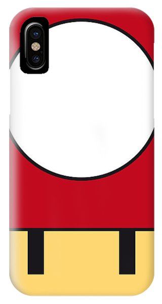 My Mariobros Fig 05a Minimal Poster IPhone Case