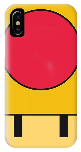 Donkey iPhone Case - My Mariobros Fig 05c Minimal Poster by Chungkong Art