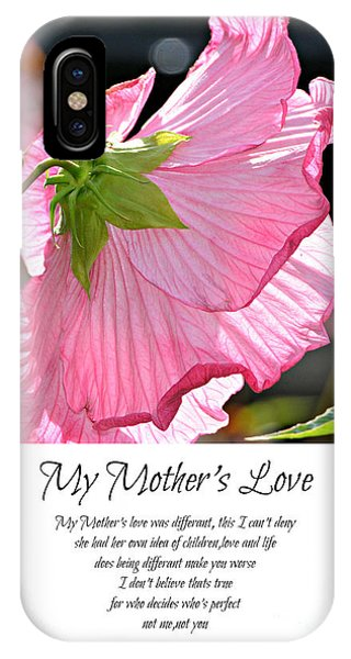 My Mother's Love IPhone Case