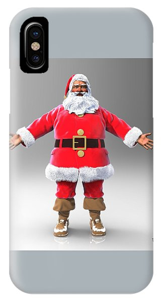 My Name Is Santa IPhone Case