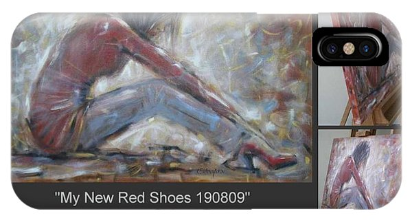 My New Red Shoes 190809 IPhone Case