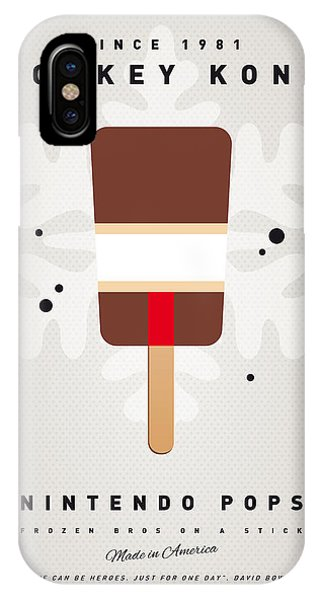 Peach iPhone Case - My Nintendo Ice Pop - Donkey Kong by Chungkong Art
