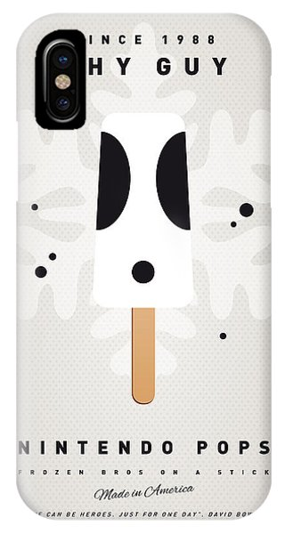 Peach iPhone Case - My Nintendo Ice Pop - Shy Guy by Chungkong Art