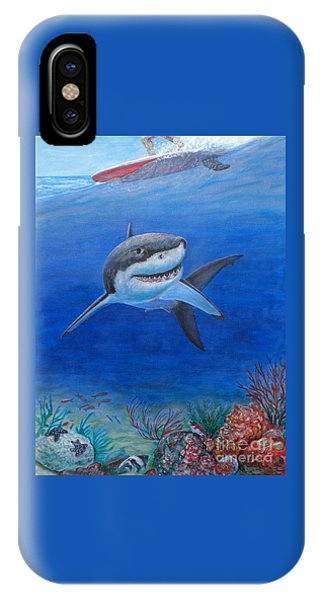 My Pet Shark IPhone Case