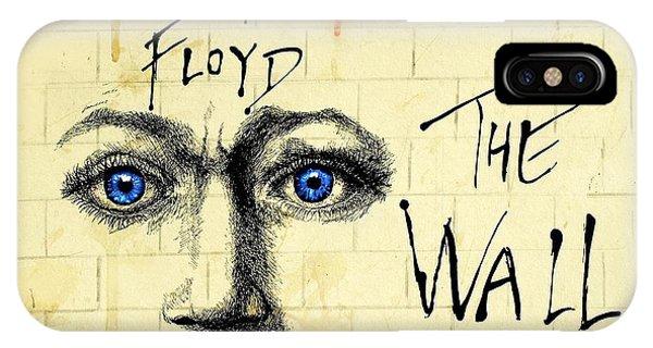 My Pink Floyd Wall Drawing by Todd Spaur