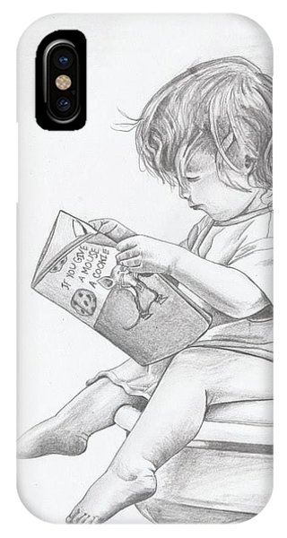 My Reading Chair IPhone Case
