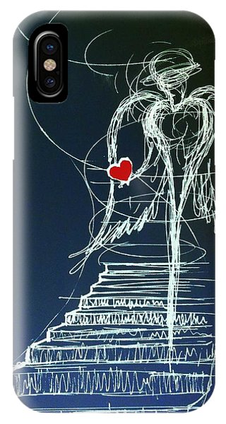 My Soul Awaits With Love At Hand IPhone Case