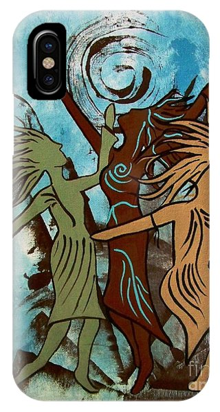 My Spirit Dances IPhone Case