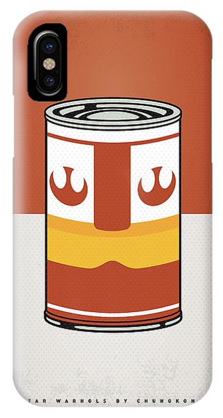 Tomato iPhone Case - My Star Warhols Luke Skywalker Minimal Can Poster by Chungkong Art