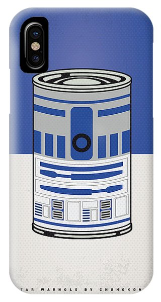 Vintage iPhone Case - My Star Warhols R2d2 Minimal Can Poster by Chungkong Art