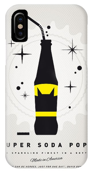 Superhero iPhone Case - My Super Soda Pops No-07 by Chungkong Art