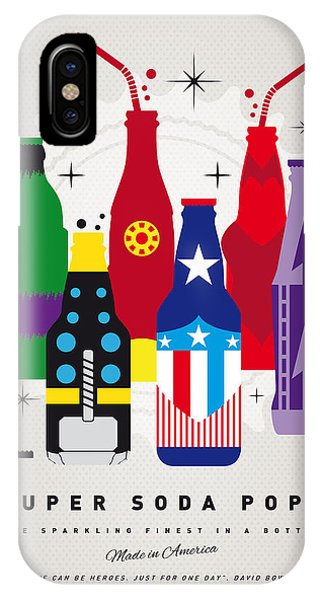 Superhero iPhone Case - My Super Soda Pops No-27 by Chungkong Art