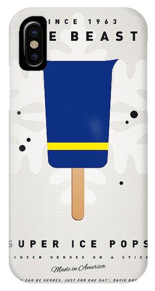 Beast iPhone Case - My Superhero Ice Pop - The Beast by Chungkong Art