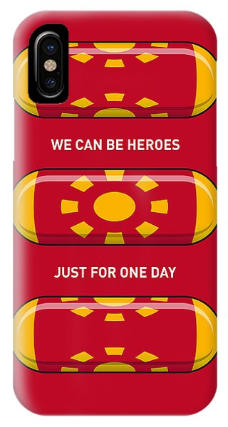 Fantastic iPhone Case - My Superhero Pills - Iron Man by Chungkong Art