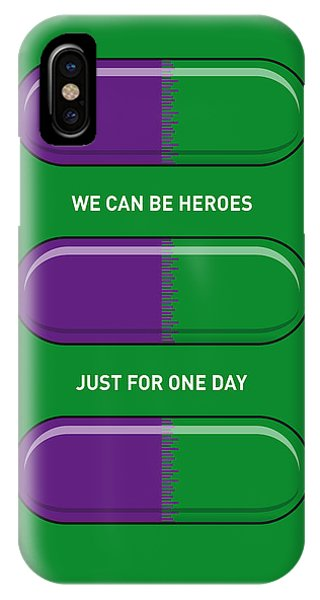 Fantastic iPhone Case - My Superhero Pills - The Hulk by Chungkong Art