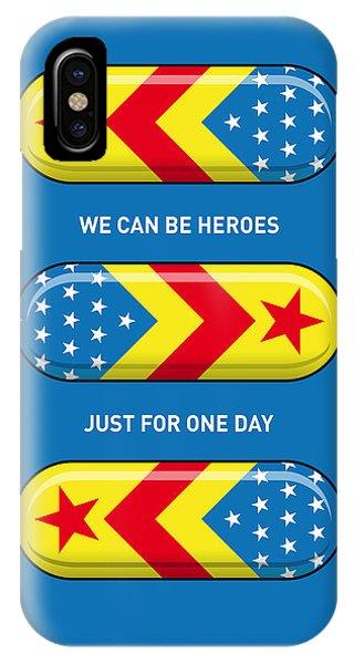 Fantastic iPhone Case - My Superhero Pills - Wonder Woman by Chungkong Art