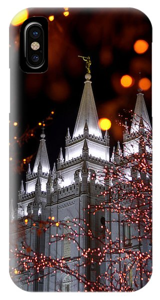 Temple iPhone Case - My Take by Chad Dutson