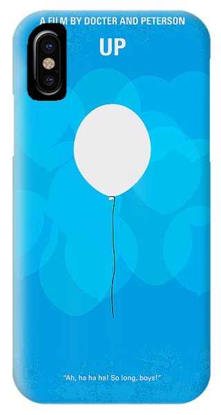 Celebration iPhone Case - My Up Minimal Movie Poster by Chungkong Art