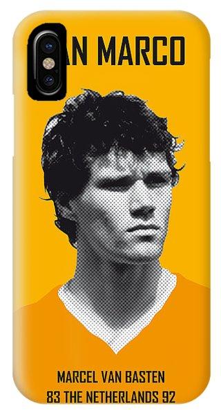 My Van Basten Soccer Legend Poster IPhone Case