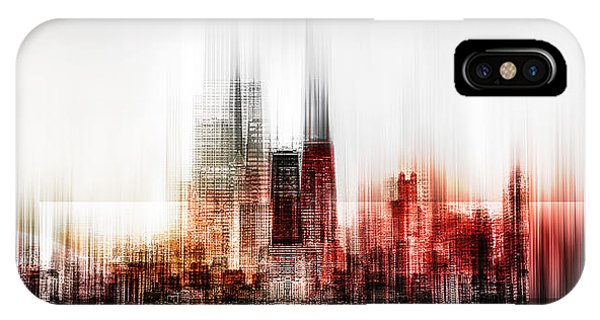 Chicago iPhone Case - My Vision by Carmine Chiriac??