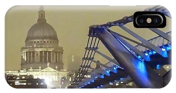 London Bridge iPhone Case - My Wife And I Have Just Come Back From by David Cook