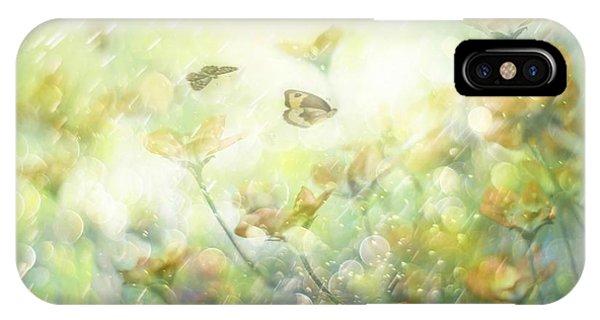Soft iPhone Case - My Wonderful World by Delphine Devos