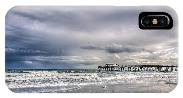 Myrtle Beach Fishing Pier IPhone Case