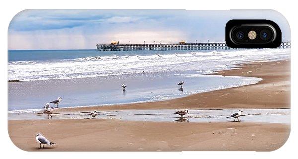 Myrtle Beach - Rainy Day IPhone Case